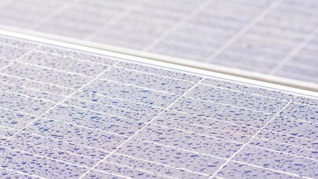Solar panels that generate energy when it rains